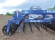 Each of the 1.55m harrow sections on the Rollomaximum XL are suspended in a parallelogram and have 4 rows of tines. Spaced at 80mm, with 300mm between each row, soil and trash can easily flow through the machine. This ensures a uniform working depth whilst providing excellent contour following across the full working width of the machine.